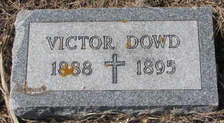 DOWD, VICTOR - Burt County, Nebraska   VICTOR DOWD - Nebraska Gravestone Photos