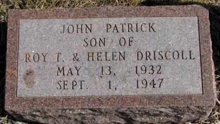 DRISCOLL, JOHN PATRICK - Burt County, Nebraska | JOHN PATRICK DRISCOLL - Nebraska Gravestone Photos