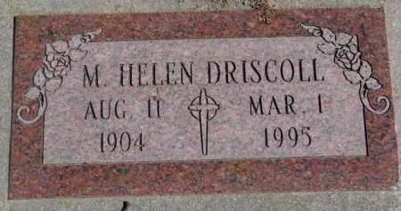 DRISCOLL, M. HELEN - Burt County, Nebraska | M. HELEN DRISCOLL - Nebraska Gravestone Photos
