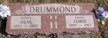 DRUMMOND, IRENE - Burt County, Nebraska | IRENE DRUMMOND - Nebraska Gravestone Photos