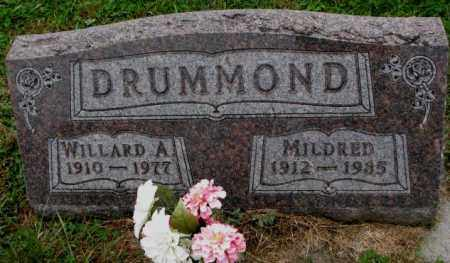 DRUMMOND, WILLARD A. - Burt County, Nebraska | WILLARD A. DRUMMOND - Nebraska Gravestone Photos