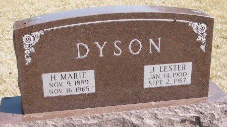 DYSON, H. MARIE - Burt County, Nebraska | H. MARIE DYSON - Nebraska Gravestone Photos