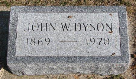 DYSON, JOHN W. - Burt County, Nebraska | JOHN W. DYSON - Nebraska Gravestone Photos