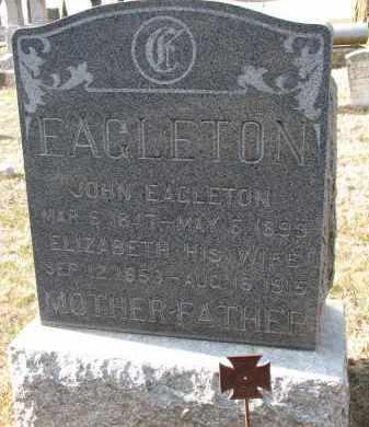 EAGLETON, JOHN - Burt County, Nebraska   JOHN EAGLETON - Nebraska Gravestone Photos