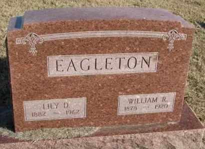 EAGLETON, WILLIAM R. - Burt County, Nebraska | WILLIAM R. EAGLETON - Nebraska Gravestone Photos