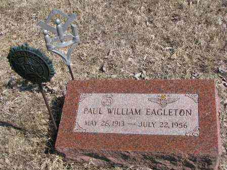 EAGLETON, PAUL WILLIAM - Burt County, Nebraska | PAUL WILLIAM EAGLETON - Nebraska Gravestone Photos