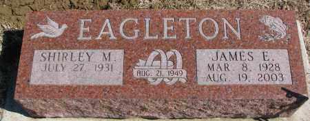 EAGLETON, SHIRLEY M. - Burt County, Nebraska   SHIRLEY M. EAGLETON - Nebraska Gravestone Photos