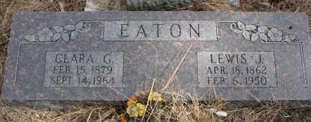 EATON, LEWIS J. - Burt County, Nebraska | LEWIS J. EATON - Nebraska Gravestone Photos