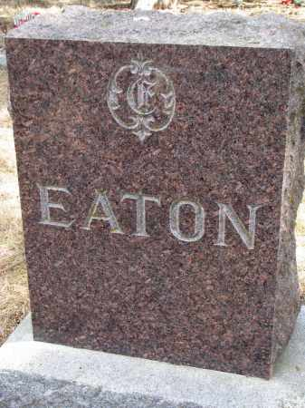 EATON, FAMILY STONE - Burt County, Nebraska   FAMILY STONE EATON - Nebraska Gravestone Photos