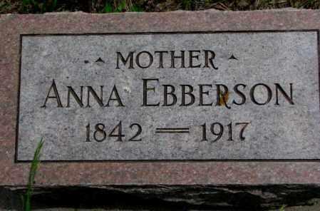 EBBERSON, ANNA - Burt County, Nebraska   ANNA EBBERSON - Nebraska Gravestone Photos