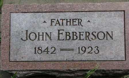 EBBERSON, JOHN - Burt County, Nebraska | JOHN EBBERSON - Nebraska Gravestone Photos