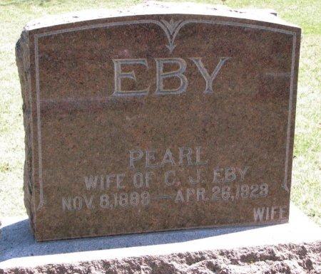 EBY, PEARL - Burt County, Nebraska | PEARL EBY - Nebraska Gravestone Photos