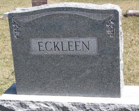 ECKLEEN, *FAMILY MONUMENT - Burt County, Nebraska | *FAMILY MONUMENT ECKLEEN - Nebraska Gravestone Photos