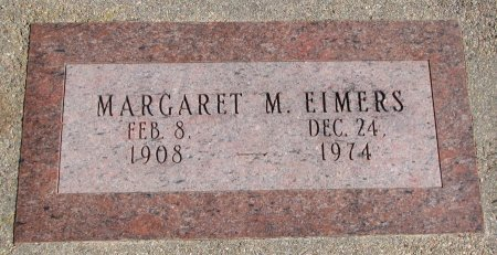 GERKEN EIMERS, MARGARET M. - Burt County, Nebraska | MARGARET M. GERKEN EIMERS - Nebraska Gravestone Photos
