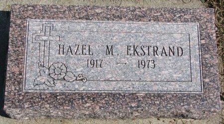 EKSTRAND, HAZEL M. - Burt County, Nebraska   HAZEL M. EKSTRAND - Nebraska Gravestone Photos