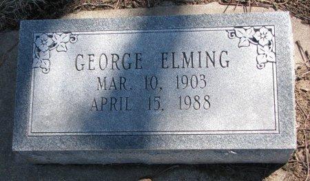 ELMING, GEORGE - Burt County, Nebraska   GEORGE ELMING - Nebraska Gravestone Photos