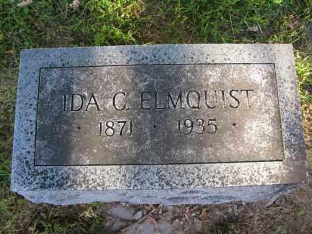ELMQUIST, IDA C. - Burt County, Nebraska | IDA C. ELMQUIST - Nebraska Gravestone Photos