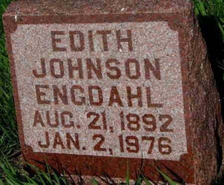 ENGDAHL, EDITH - Burt County, Nebraska | EDITH ENGDAHL - Nebraska Gravestone Photos