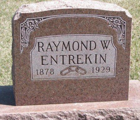 ENTREKIN, RAYMOND W. - Burt County, Nebraska | RAYMOND W. ENTREKIN - Nebraska Gravestone Photos