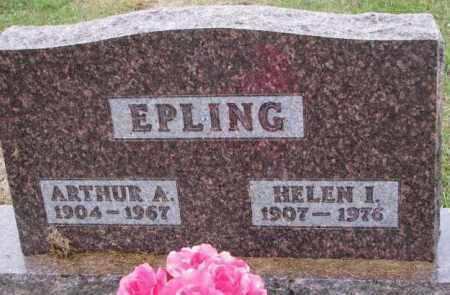 EPLING, ARTHUR A. - Burt County, Nebraska | ARTHUR A. EPLING - Nebraska Gravestone Photos