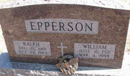 EPPERSON, WILLIAM - Burt County, Nebraska | WILLIAM EPPERSON - Nebraska Gravestone Photos