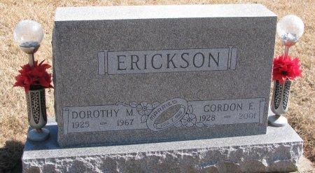 ERICKSON, GORDON E. - Burt County, Nebraska | GORDON E. ERICKSON - Nebraska Gravestone Photos