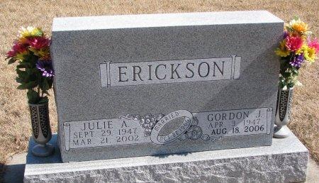 ERICKSON, GORDON J. - Burt County, Nebraska | GORDON J. ERICKSON - Nebraska Gravestone Photos