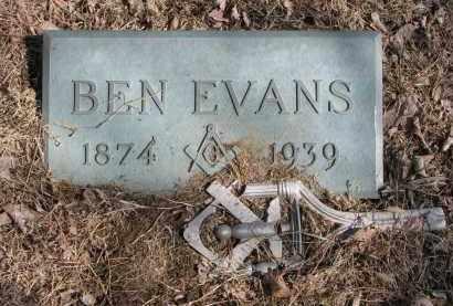 EVANS, BEN - Burt County, Nebraska | BEN EVANS - Nebraska Gravestone Photos