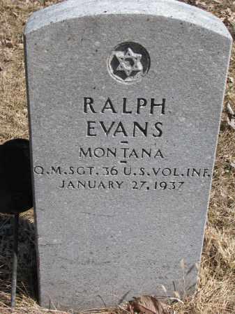EVANS, RALPH - Burt County, Nebraska | RALPH EVANS - Nebraska Gravestone Photos