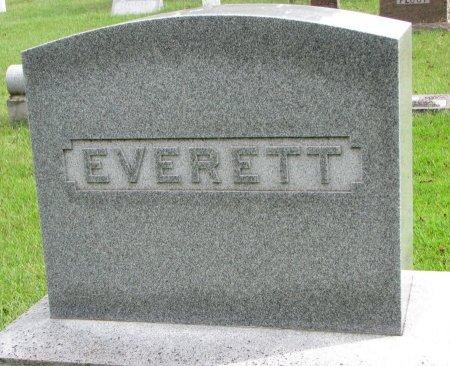 EVERETT, *FAMILY MONUMENT - Burt County, Nebraska | *FAMILY MONUMENT EVERETT - Nebraska Gravestone Photos