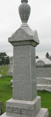 EVERETT, ANDREW - Burt County, Nebraska | ANDREW EVERETT - Nebraska Gravestone Photos