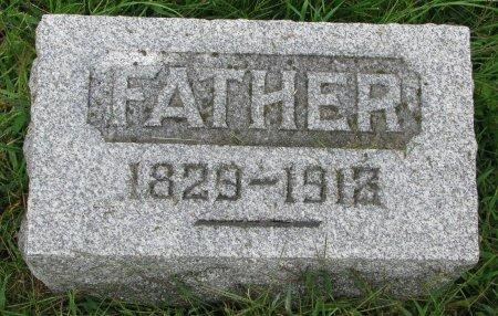 EVERETT, ANDREW (FOOT STONE) - Burt County, Nebraska | ANDREW (FOOT STONE) EVERETT - Nebraska Gravestone Photos