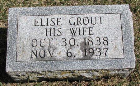 EVERETT, ELISE - Burt County, Nebraska | ELISE EVERETT - Nebraska Gravestone Photos