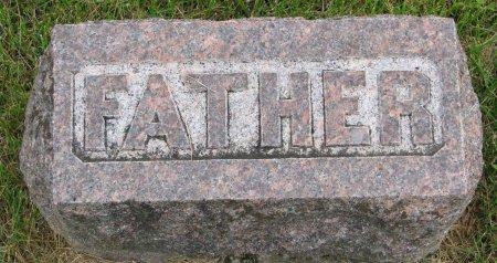 EVERETT, EDWARD BURTON (FOOT STONE) - Burt County, Nebraska   EDWARD BURTON (FOOT STONE) EVERETT - Nebraska Gravestone Photos
