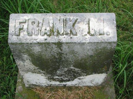 EVERETT, FRANK M. (FOOT STONE) - Burt County, Nebraska | FRANK M. (FOOT STONE) EVERETT - Nebraska Gravestone Photos