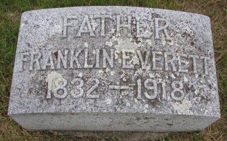 EVERETT, FRANKLIN - Burt County, Nebraska | FRANKLIN EVERETT - Nebraska Gravestone Photos