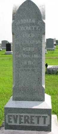EVERETT, HERMAN C. - Burt County, Nebraska | HERMAN C. EVERETT - Nebraska Gravestone Photos