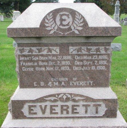 EVERETT, CLYDE - Burt County, Nebraska | CLYDE EVERETT - Nebraska Gravestone Photos