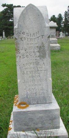 EVERETT, ARVILLA - Burt County, Nebraska   ARVILLA EVERETT - Nebraska Gravestone Photos
