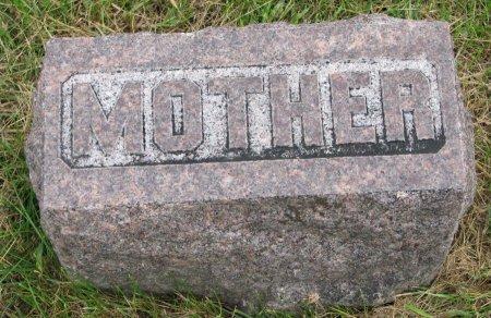 EVERETT, MARY AMANDA (FOOT STONE) - Burt County, Nebraska | MARY AMANDA (FOOT STONE) EVERETT - Nebraska Gravestone Photos