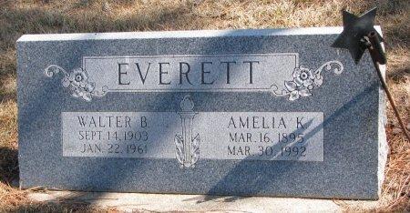 EVERETT, WALTER B. - Burt County, Nebraska | WALTER B. EVERETT - Nebraska Gravestone Photos