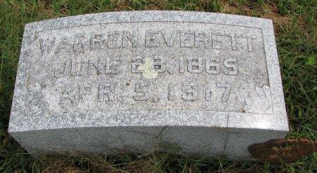 EVERETT, WARREN - Burt County, Nebraska   WARREN EVERETT - Nebraska Gravestone Photos