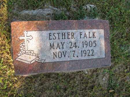 FALK, ESTHER - Burt County, Nebraska | ESTHER FALK - Nebraska Gravestone Photos