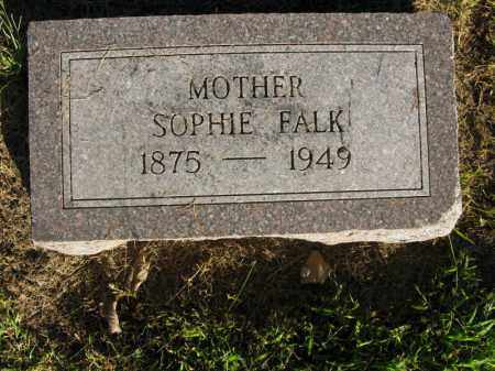 FALK, SOPHIE - Burt County, Nebraska | SOPHIE FALK - Nebraska Gravestone Photos