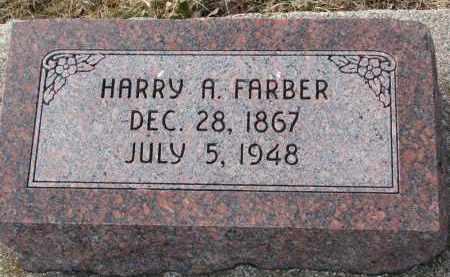 FARBER, HARRY A. - Burt County, Nebraska | HARRY A. FARBER - Nebraska Gravestone Photos