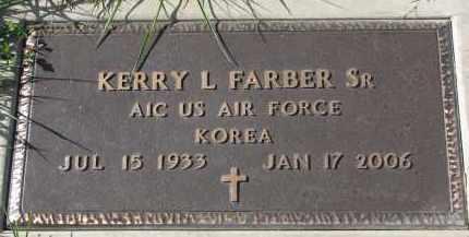 FARBER, KERRY L. SR. (MILITARY) - Burt County, Nebraska | KERRY L. SR. (MILITARY) FARBER - Nebraska Gravestone Photos