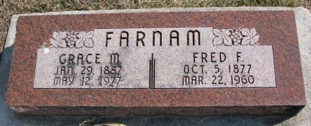 FARNAM, GRACE M. - Burt County, Nebraska | GRACE M. FARNAM - Nebraska Gravestone Photos