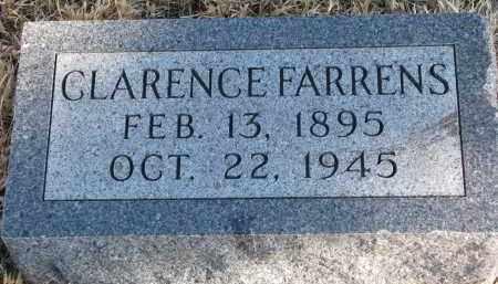 FARRENS, CLARENCE - Burt County, Nebraska   CLARENCE FARRENS - Nebraska Gravestone Photos