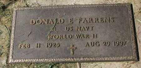 FARRENS, DONALD E. (WW II) - Burt County, Nebraska | DONALD E. (WW II) FARRENS - Nebraska Gravestone Photos