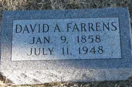 FARRENS, DAVID A. - Burt County, Nebraska | DAVID A. FARRENS - Nebraska Gravestone Photos